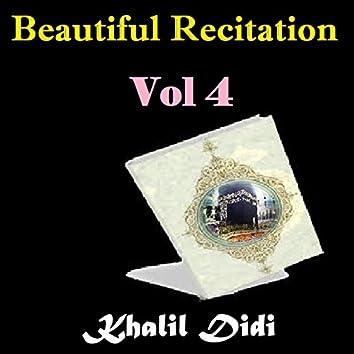 Beautiful Recitation, Vol. 4 (Quran)
