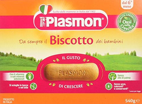 Plasmon Biscotto Classico - 3 confezioni da 540 gr - Totale: 1.62 kg