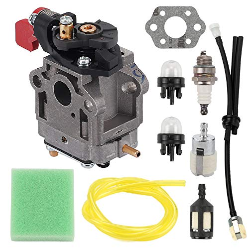 FQFP 308028004 Carburetor Kit Replace Walbro WYC-6 for Homelite Ryobi UT-08542 UT-08542-A UT-08542-B UT-08072 UT-08072AUT08012 UT08512 UT08512A UT08512B UT08042UT08572 UT08572A Blower