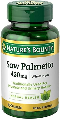Nature s Bounty Saw Palmetto 450 mg 100 Capsules product image