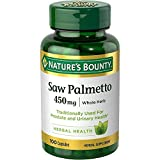 Nature's Bounty Saw Palmetto 450 mg 100 Capsules (Pack of 2)