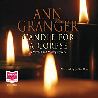 Candle for a Corpse audiobook cover art