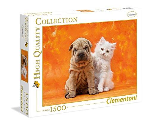 Clementoni 31634 1500pieza(s) Puzzle - Rompecabezas (Jigsaw Puzzle, Fauna, HQC SO Cute, 14 año(s), 99 año(s), Italia)