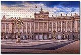 BZAHW Puzzle 1000 Piezas Piezas Jigsaw Puzzle Palacio Real de Madrid, España para Infantiles Adolescentes educativos Juegos de