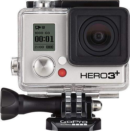 GoPro HERO3+ Black Edition 4K Adventure Camera - 12MP (Renewed)