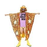 WWE Randy Savage Macho Man Madness Sequin Costume Cape