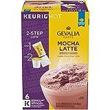 Gevalia Mocha Latte Espresso K-Cup Coffee Pods (36 Pods, 6 Packs of 6)