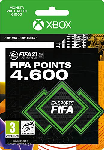 FIFA 21 Ultimate Team 4600 FIFA Points | Xbox - Codice download