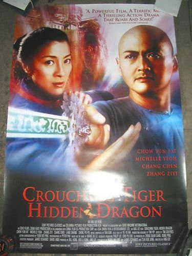 CROUCHING TIGER HIDDEN DRAGON ORIG. MOVIE U.S. POSTE ONE-SHEET Translated Deluxe