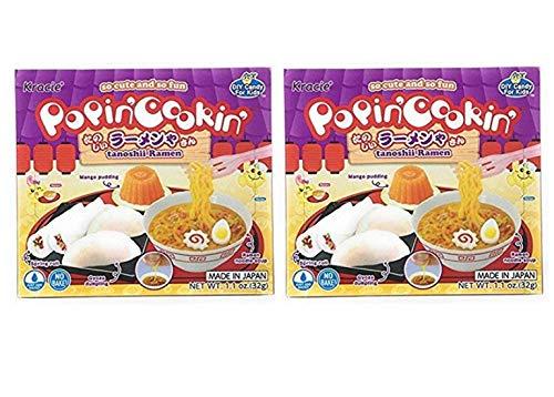 Kracie Popin Cookin Tanoshii Ramen DIY Candy (2 Pack, Total of 2.2oz)