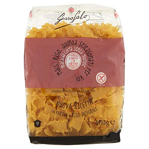 Garofalo - Special BOX - Pasta Sin Gluten - MAFALDA CORTA (800Gr) + GNOCCO SARDO (800Gr)