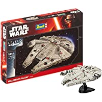 Revell Star Wars Millennium Falcon Kit modele, Escala 1:241 (03600), Multicolor