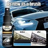 Bgnoerh 100ml Car Headlight Scratch Repair Spray - Car Headlight...