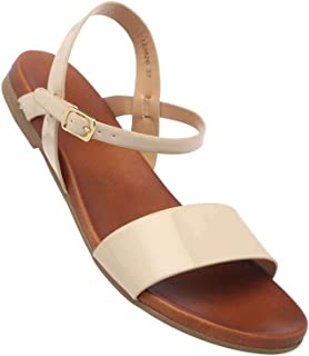 Haute Curry by Shoppers Stop Womens Casual Wear Buckle Closure Flats