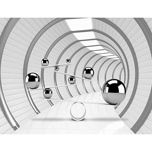 Fototapeten 3D - Raum 352 x 250 cm Vlies Wand Tapete Wohnzimmer Schlafzimmer Büro Flur Dekoration Wandbilder XXL Moderne Wanddeko - 100% MADE IN GERMANY - Runa Tapeten 9154011a