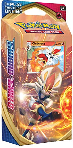 Pokemon TCG: Sword & Shield Theme Deck Featuring Cinderace