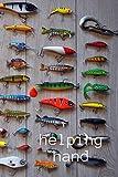helping hand: hunting fish/fishing log book journal/fishing log adult/ fishing calendar/ journal for kids/marine life/children's books/sport outdoors