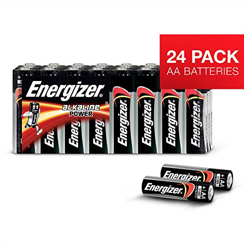 Batterie AA Energizer Alkaline Power, confezione da 24