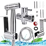 Handheld Toilet Bidet Sprayer Set Pipe Shattaf Water Cleaner...