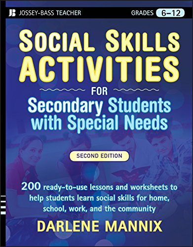 Compare Textbook Prices for Social Skills Activities for Secondary Students with Special Needs 2 Edition ISBN 9780470259368 by Mannix, Darlene