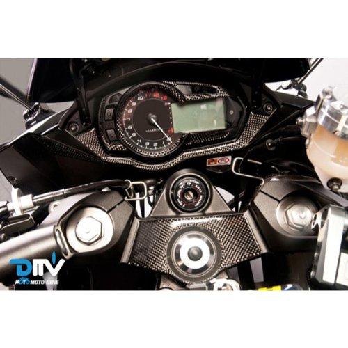 KAWASAKI NINJA1000/Z1000SX用 メータープロテクトパッド カーボン調 DI-CMAP-SX11-13