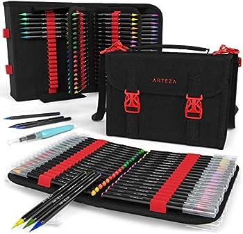 Arteza Real Brush Pens Travel Bundle