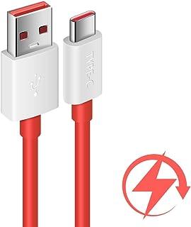 استبدال كابل شحن داش لكابل وان بلس 7، كابل شحن COOYA 5V 4A لكابل شحن OnePlus 7 Pro 8 7T USB نوع C، كابل USB C بطول 6FT بطو...