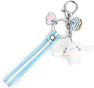 EOGAIL Cartoon Cinnamoroll Keychain Accessories Doll Pendant Anime Keychain Cute Doll Keyring Ornaments Small Gift (Cinnam...