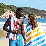 HOdo Beach Towel 200x90cm Microfiber Sandfree Travel Towel Quick Drying Sandproof Beach Blanket