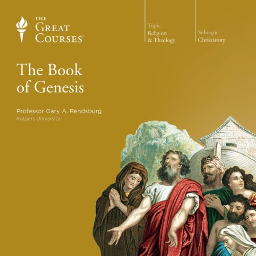 The Book of Genesis audiobook cover art