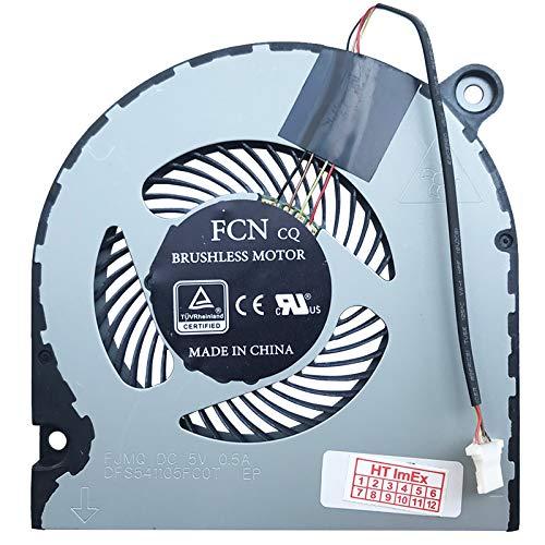 (Verison 2) Lüfter Kühler Fan Cooler kompatibel für Acer Predator Helios 300 (G3-572-59WG), 300 (G3-572-725F), 300 (G3-572-7378), 300 (PH317-52-51LG), 300 (PH317-52-52BG), 300 (PH317-52-52NX)