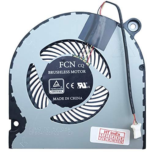 (Verison 2) Fan Cooler Compatible with Acer Aspire 5 (A515-52G-52S7), 5 (A515-52G-723L), 5 (A515-52G-530H), 5 (A515-52G-78GQ), 5 (A515-52G-53PU), 5 (A515-5 (A5 (A515 (A51515 2G-70Y. X).
