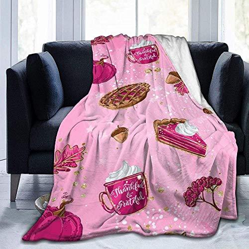XYBHD Manta suave Art Fresa Colorida Naturaleza Mantas Usadas para Camas Sofás Cálidas y Cómodas Mantas Ligeras (Hombres Mujeres)