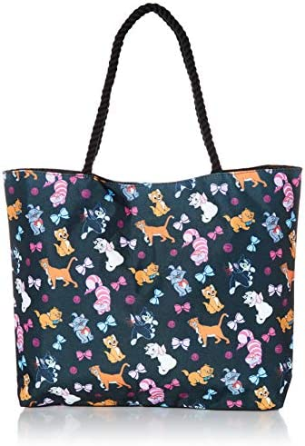 Disney Tote Travel Bag Cats Print Figaro Cheshire Oliver Co Marie Aristocats product image
