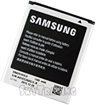 SAMSUNG Cell Phone Battery - EB425161LU- Compatible with Samsung GALAXY S III 3 S3 MINI GT-I8190 (NOT FITS GALAXY S III I9300)