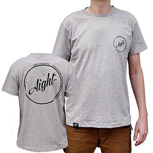 Aight Evolution T-Shirt Vintage S Heather Grey