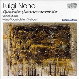 Luigi Nono: Vocal Music / Various