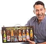 International Beer-Tasting-Box | Bierspezialitäten aus aller Welt | 8 x 0,33 L | Geschenkidee mit...