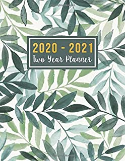 2020-2021 Two Year Planner: 2020-2021 monthly planner full size | Monthly Schedule Organizer - Agenda Planner For The Next Two Years, 24 Months ... Dec 2021 ) (2 year monthly planner 2020-2021)