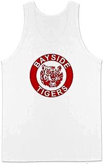 Bayside Tigers 90s Retro Halloween Costume Sleeveless Shirt Tank Top Mens
