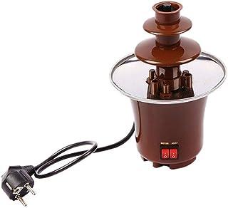 3 Tier Chocolate Fountain Machine Electirc Chocolate Fondue Mini Chocolate Waterfall Maker Machine for Party Home Wedding ...