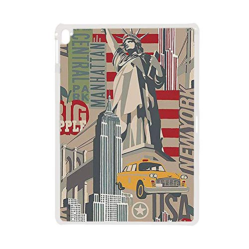 no-branded Hard Abs Cases Boy On iPad Pro 12.9 Inch Print Eiffer Tower Stamp 1 Individuality Choose Design 111-1