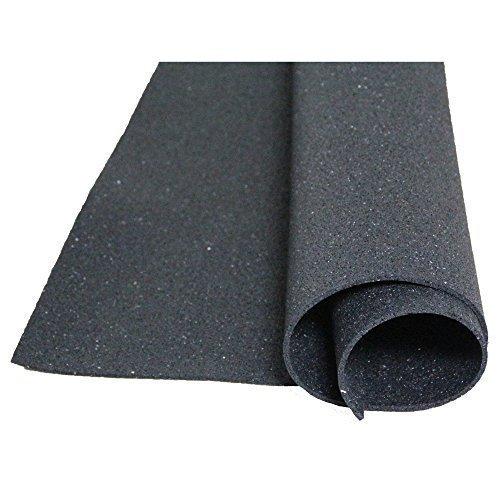 acerto Bautenschutzmatte aus Gummigranulaten - 1m x 1m x 5mm, verrottungsfest