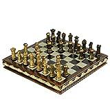YHYH ajedrez Juegos de Mesa Adornos de Resina Adornos Juegos de Mesa para Adornos de Escritorio Adultos y Regalos para niños ajedrez para Adultos