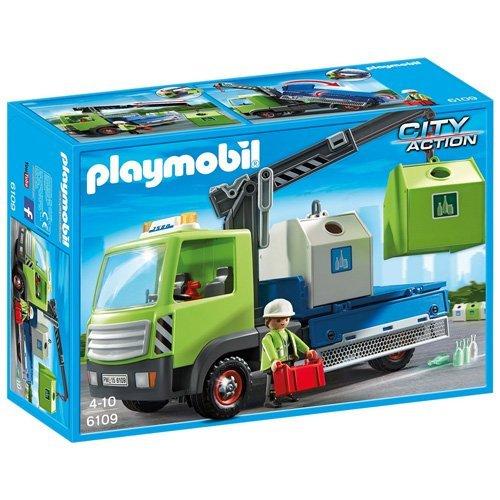 PLAYMOBIL - Camión de contenedores (61090)