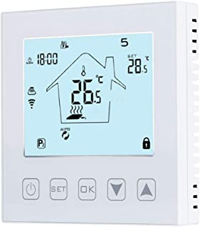 Boquite Valentine's Day Carnival Touch Operation Calibration Function WiFi Thermostat, Thermostat, LCD Screen for Floor He...