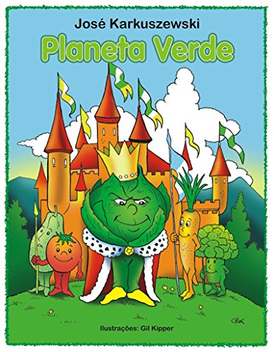 Planeta Verde: Os Hortifrutis no Planeta Verde (Portuguese Edition)