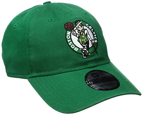 NBA Boston Celtics Adult Men NBA Core Classic 9Twenty Adjustable Cap,OSFA,Green
