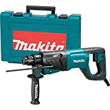 """Makita HR2641 1"""" AVT Rotary Hammer, Accepts SDS-Plus Bits, 3-Mode, Variable Speed, Case"""