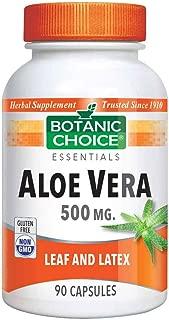 Botanic Choice Aloe Vera 500 mg, 90 Capsules